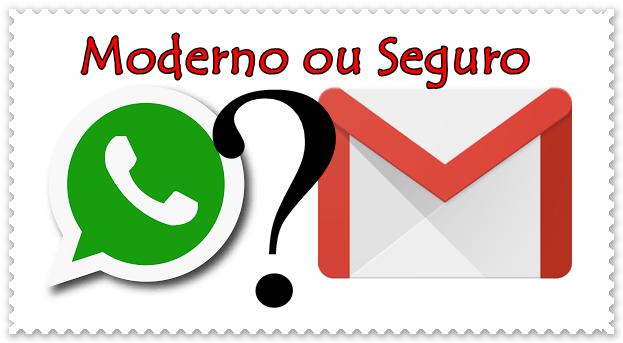 Whatsapp ou E-mail